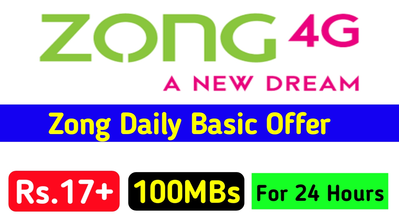 Zong Daily Basic Internet Package Detail