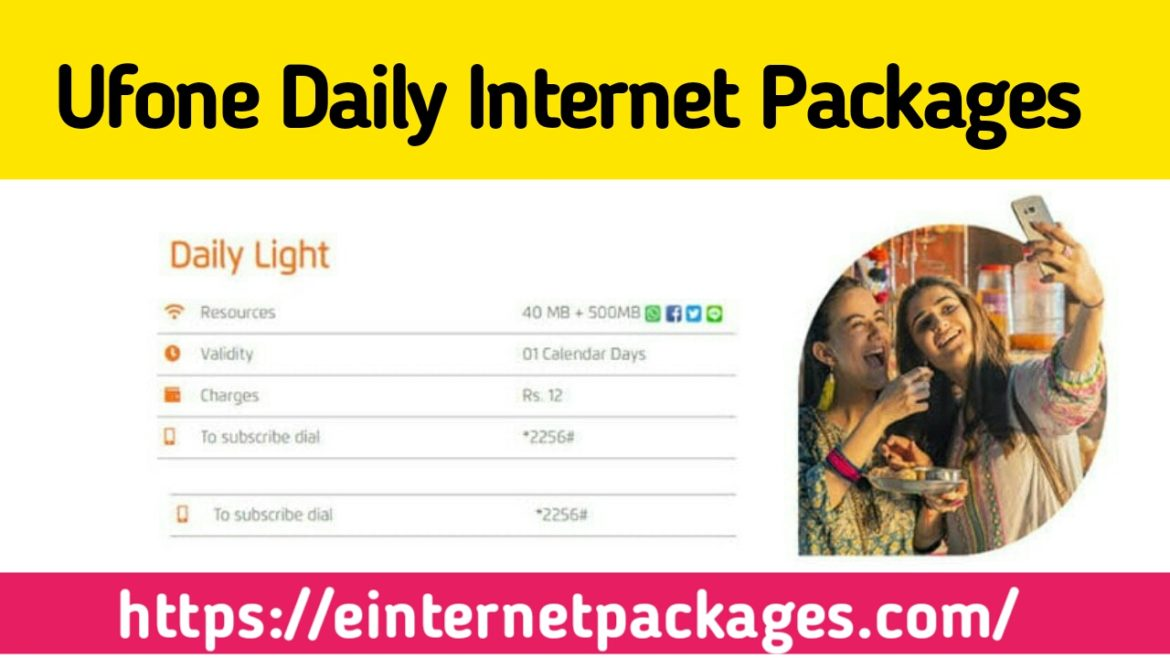 Ufone Daily Internet Packages (Bundles)
