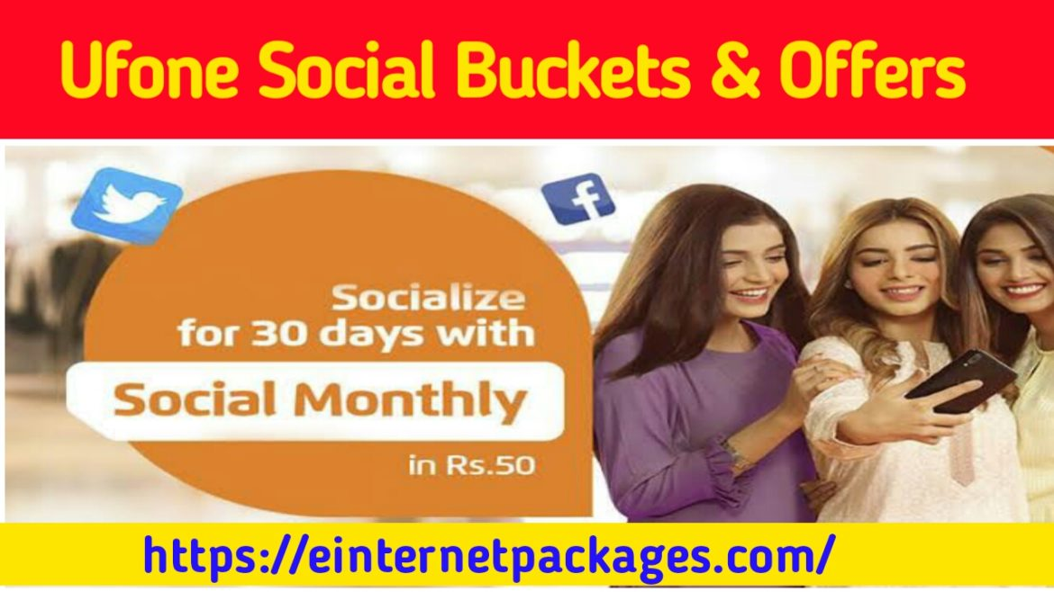 Ufone Social Data Buckets Offers
