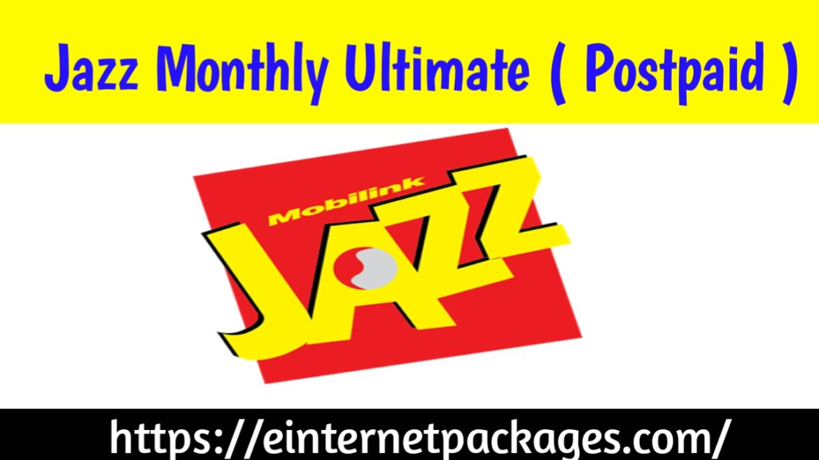 Jazz Monthly Ultimate Offer (Postpaid Bundle)