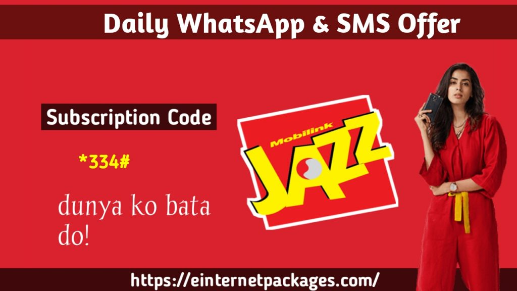 Jazz Daily WhatsApp SMS
